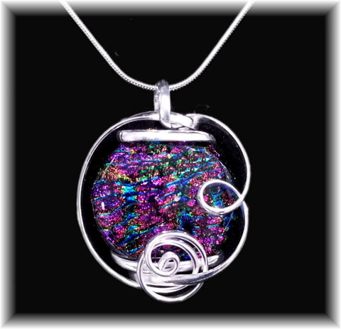 Purple Freeform Pendant