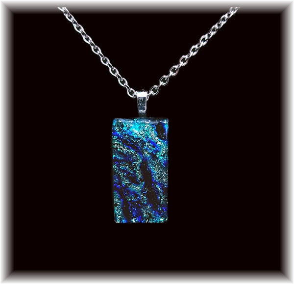 Blue Ice Small Pendant