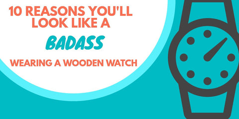 Wearing a Wooden Watch