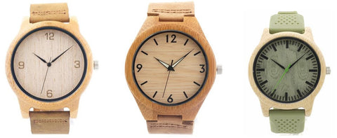 example of a bamboo watch - How to Choose the Right Watch for Your Outfit