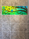 Bluebirds Tile Mural, High Quality (won't fade), Indoor or Outdoor, Beach Wall Tiles, Backsplash, Shower, Mosaic