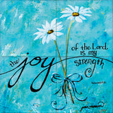 Joy of the Lord Tile Mural, High Quality (won't fade), Indoor or Outdoor, Kitchen, Bath, Backsplash, Shower, Mosaic, Commercial & Residential