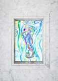 Seahorse Tile Mural, High Quality (won't fade), Indoor or Outdoor, Beach Wall Tiles, Backsplash, Shower, Mosaic, Commercial & Residential