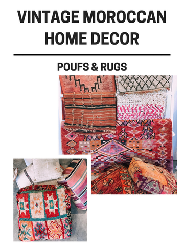 Due East Rugs and Poufs