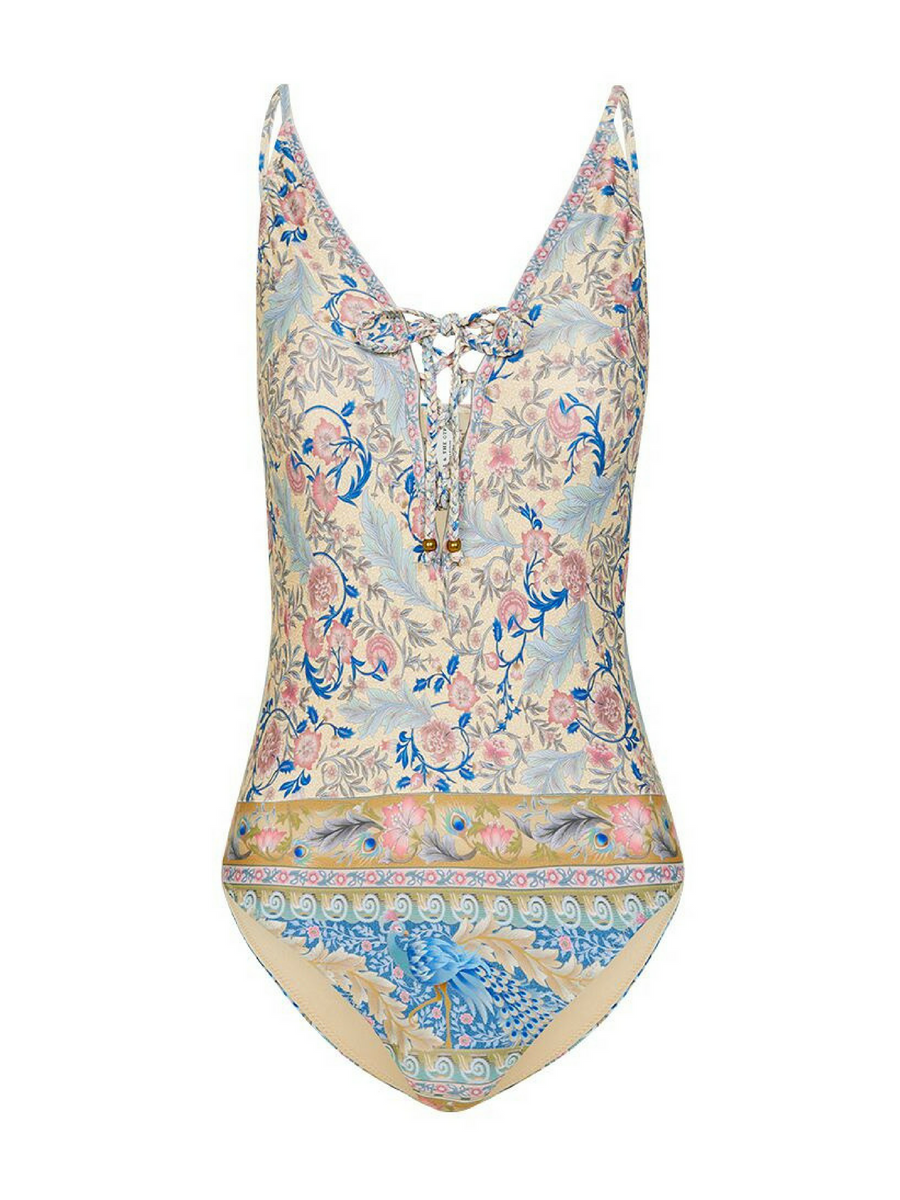 Spell & the Gypsy Oasis Lace Up One Piece I Southern Hippie