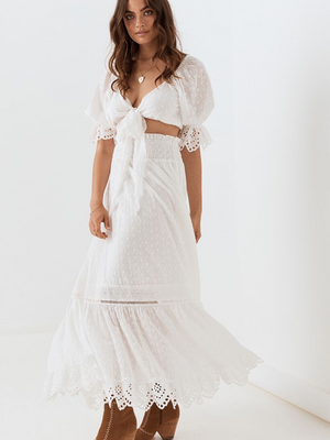 Spell & the Gypsy Daisy Chain Maxi Skirt I Southern Hippie