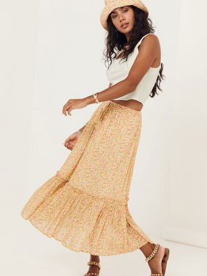 Spell and the Gypsy Rae Midi Skirt I Southern Hippie