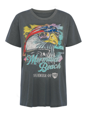 Spell & the Gypsy Eagle Island Organic Biker Tee I Southern Hippie