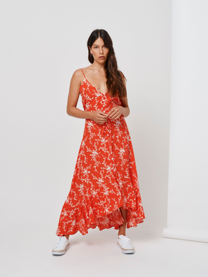 Kivari Oasis Strappy Maxi Dress I Southern Hippie