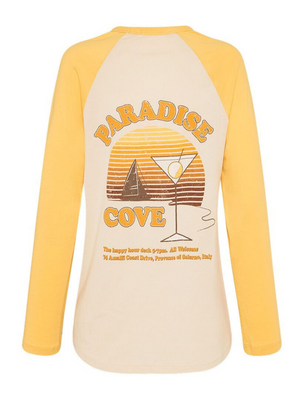 Paradise Cove Organic Boxy Raglan from Southern Hippie in Austin, Texas