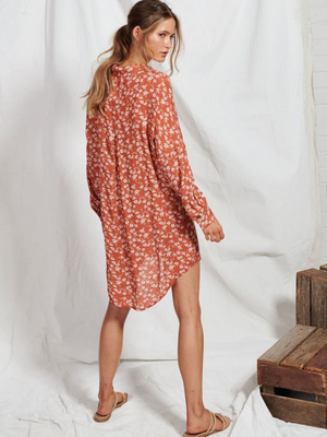 Mae Floral Shirt Dress from Southern Hippie in Austin, Texas.