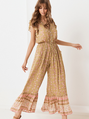 Spell and the Gypsy Dahlia Jumpsuit I Southern Hippie Austin, Texas