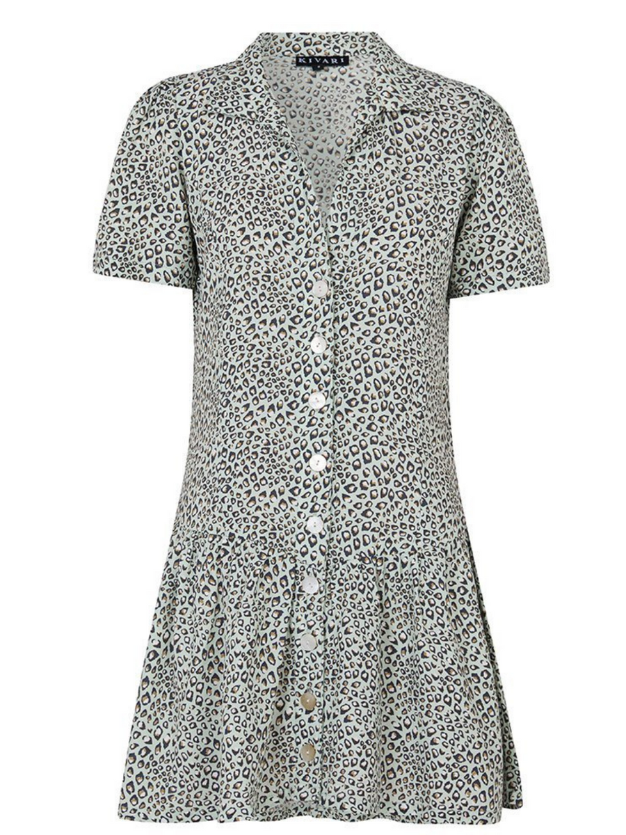 Kivari Baby Leopard Play Dress I Southern Hippie Austin, Texas