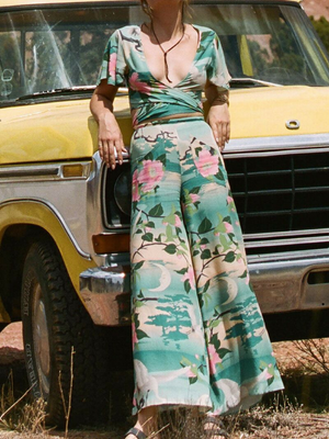 Spell & the Gypsy Nightingale Wide Leg Pants I Southern Hippie Austin, Texas