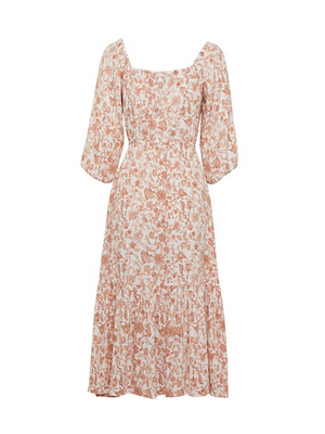Kivari Florence Scoop Neck Midi Dress I Southern Hippie