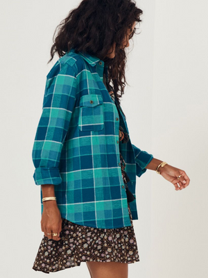 Spell and the Gypsy Maverick Flannel Shirt I Southern Hippie