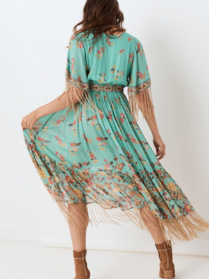 Spell & the Gypsy Hendrix Tasseled Dress I Southern Hippie