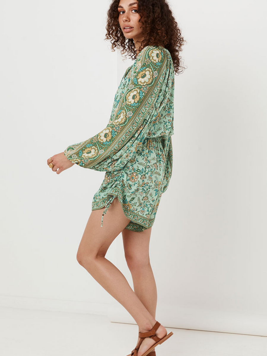 Spell and the Gypsy Folk Song Romper I Southern Hippie