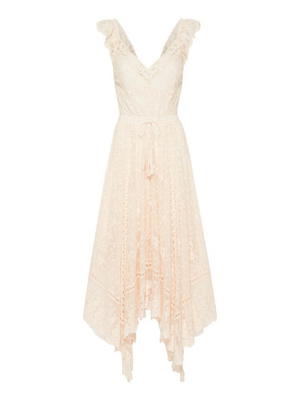 Spell and the Gypsy Le Gauze Lace Kerchief Dress I Southern Hippie