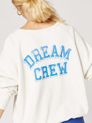 Daydreamers Clothing Dream Crew Varsity Crew Sweatshirt I Southern Hippie