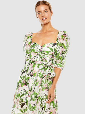 Tropo Dreams Midi Dress from Southern Hippie in Austin, Texas