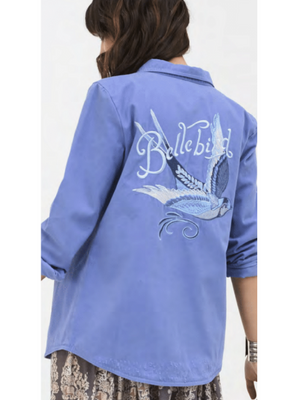 Spell & the Gypsy Blue Belle Chambray Jacket from Southern Hippie in Austin, Texas