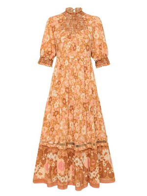 Spell and the Gypsy Anne Midi Gown I Southern Hippie