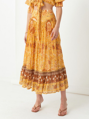 Spell and the Gypsy Mystic Maxi Skirt I Southern Hippie