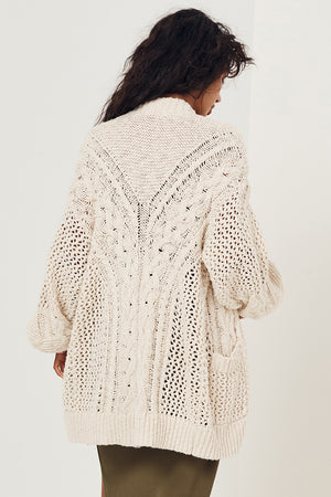 Taletha Cable Cardigan