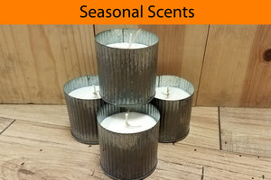 Seasonal Hand Poured Soy Candles