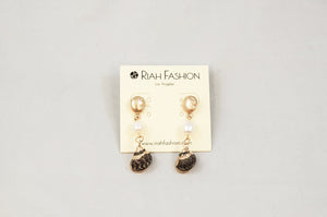 Seashell & Pearl Earrings