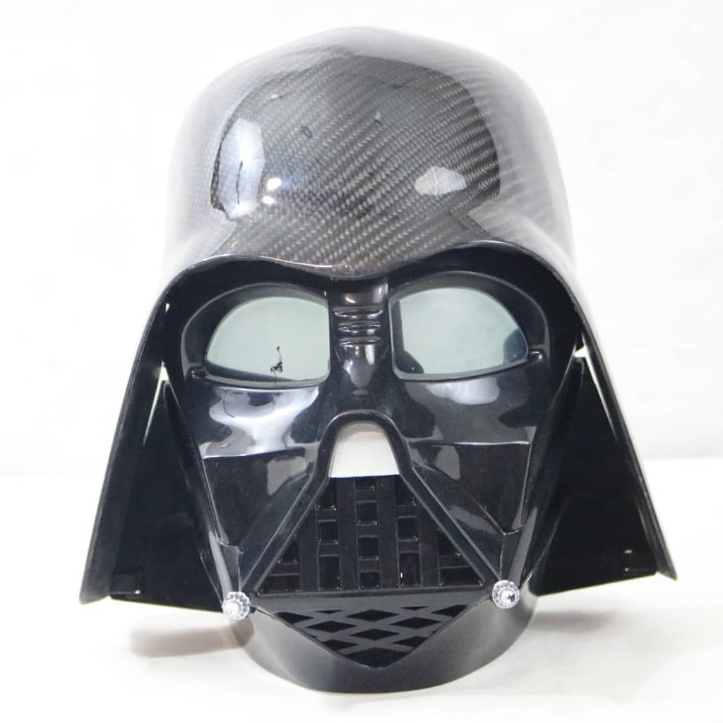 Dinmann CF | Disney Star Wars | Darth Vader Voice Changing Mask Refined in Carbon Fiber
