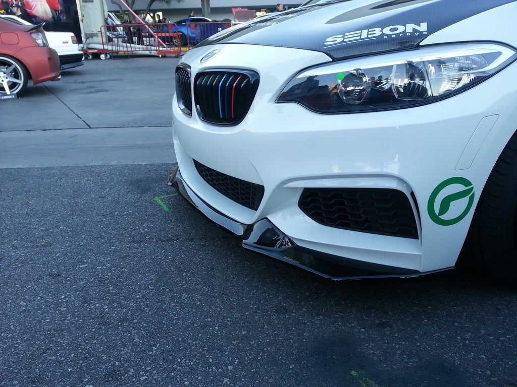 Carbon Fiber Front Lip – BMW F22 2 series