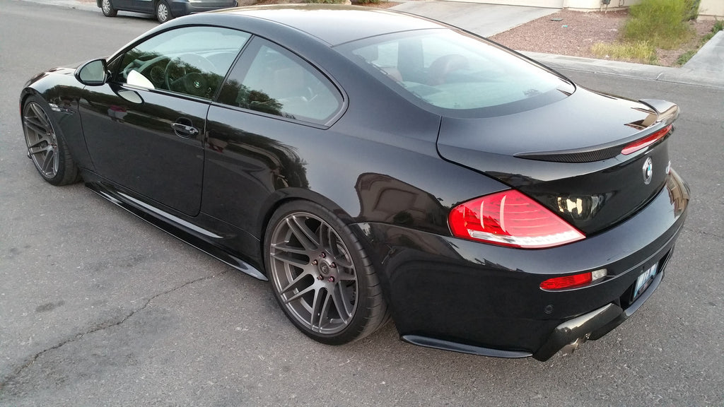 Bmw M6 Carbon: Carbon Fiber Rear Side Bumper Extensions