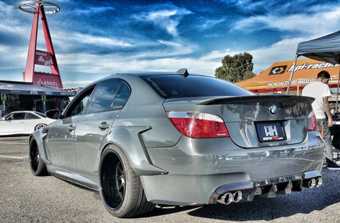 Carbon Fiber Rear Diffuser – BMW E60 M5