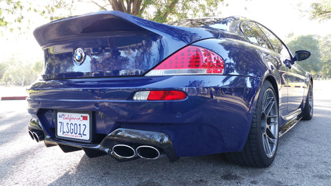Carbon Fiber Rear Diffuser – BMW E63 M6