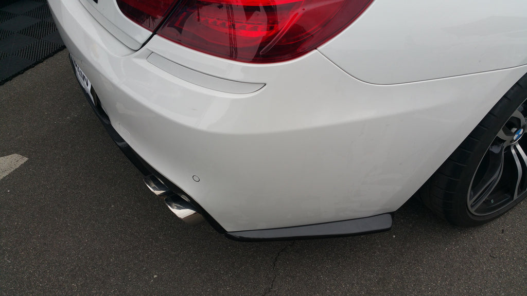 CARBON FIBER REAR SIDE BUMPER LIP F06 F12 F13 M6