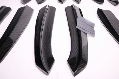 Dinmann CF  | BMW F10 M5 | Rear Side Bumper Extension