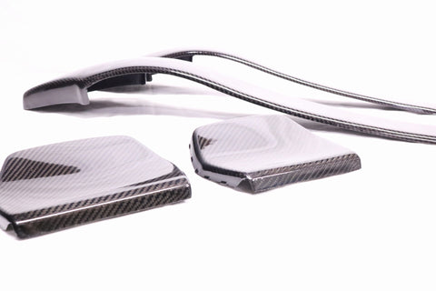 BMW BACK SEAT CARBON FIBER COVERS F80 M3 F82 M4 F87 M2 COMPETITIONS