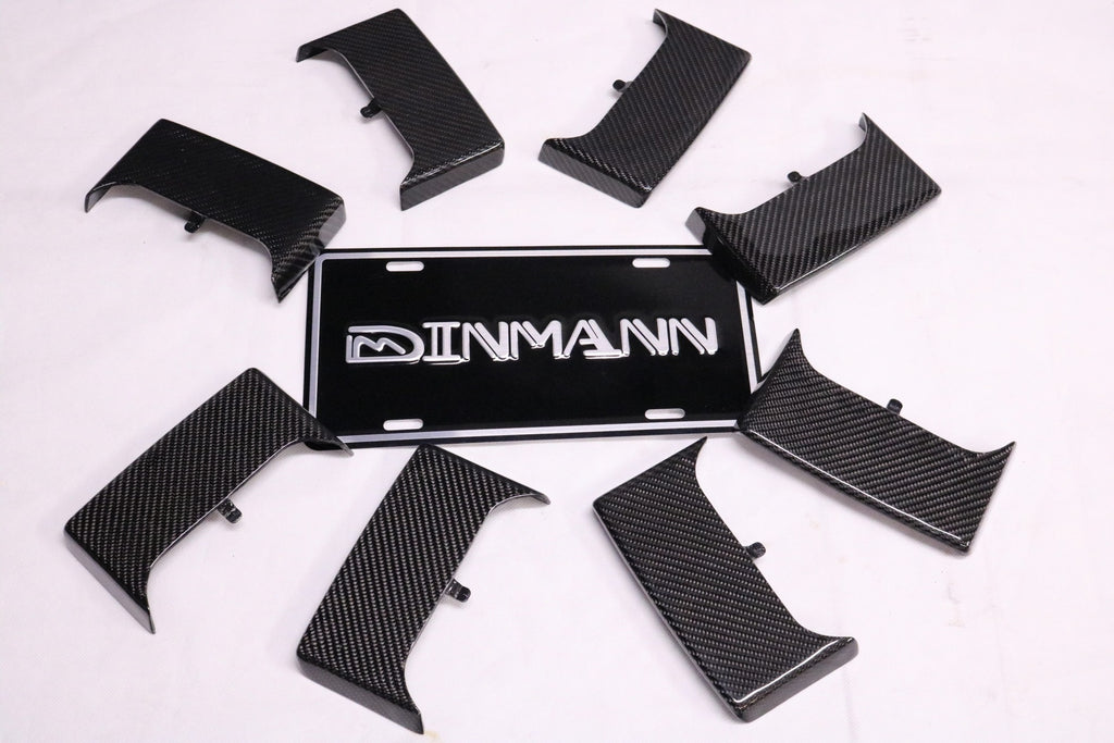 Dinmann CF | BMW FXX | Cover panel, Trim cover for sliding unit on the center console