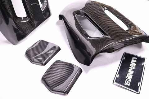BMW BACK SEAT CARBON FIBER FULL COVERS F80 M3 F82 M4 F87 M2