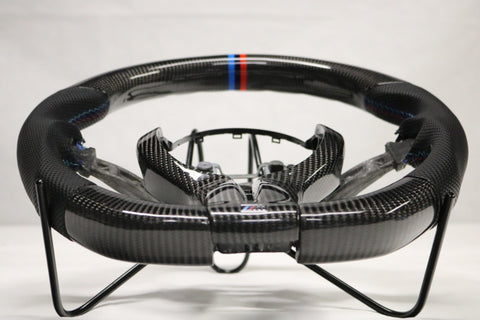 Dinmann CF Steering Wheel | F15X5 F85X5M | F16X5  F86 X6M | - with up to 450$ refund option