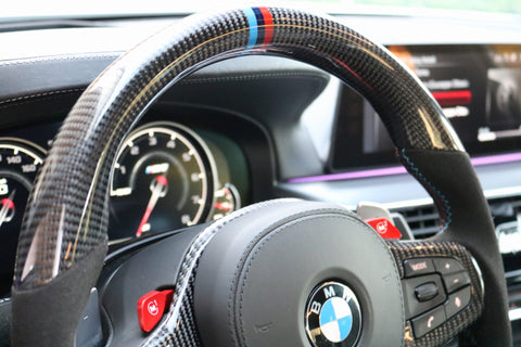Dinmann CF | F90 M5 | Carbon Fiber Steering Wheel with $1300 Refund Option