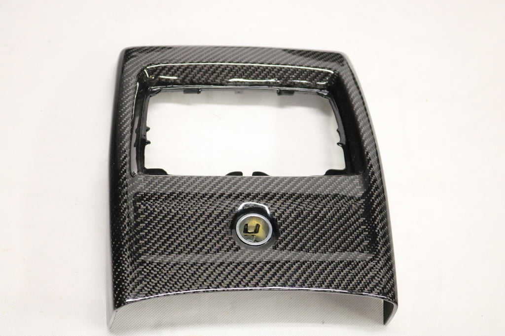 Dinmann CF | BMW FXX | Center Console, Rear (NO HEATING OPTION)