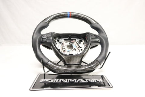 Dinmann CF Steering Wheel | F01 F02 F03 F07 F10 F11 |- with 300$ refund option