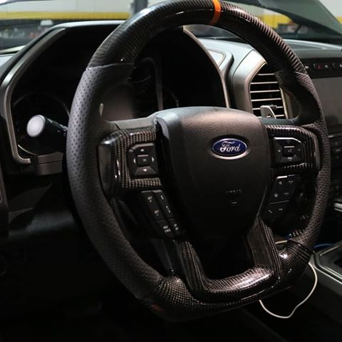 Dinmann CF  | Ford Raptor SVT  | Steering Wheel - With up to $450 Refund Option