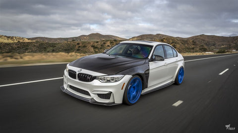 Dinmann CF - BMW F8X M3/M4 Full Replacement Fenders