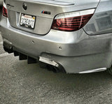 Carbon Fiber Rear Side Bumper Extensions – BMW E60 M5