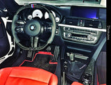 Custom Carbon Fiber Steering Wheel BMW F87M2 F80 M3 F82 F83 M4 2 3 AND 4 series with 650$ refund option