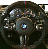 Dinmann CF | F87 M2 | F8X M3 / M4 | 2, 3 & 4 Series | Carbon Fiber Steering Wheel  - with $450 Refund Option